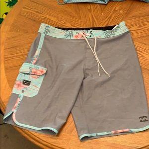 Billabong Board shorts in a size 34